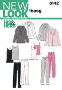 6142 New Look Pattern: Misses' and Men's Separates